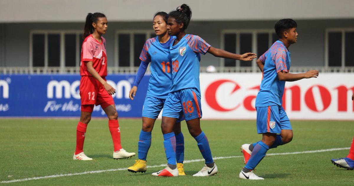 indian womens football team captain - 838×560