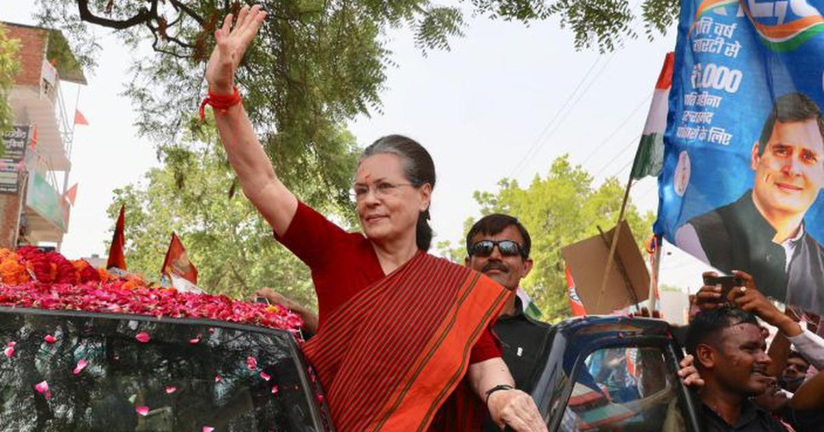 Sonia Gandhi files nomination papers in Rae Bareli, says Narendra Modi is not invincible