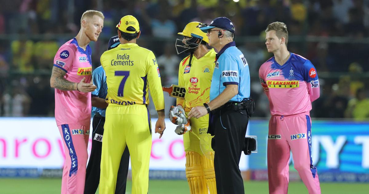 IPL 2019, CSK vs RR: When Dhoni overstepped on Stokes' no ball in a last over that no one saw coming