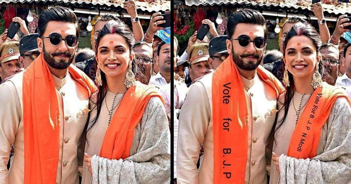 Fact check: Did Bollywood stars Ranveer Singh and Deepika Padukone really campaign for the BJP?