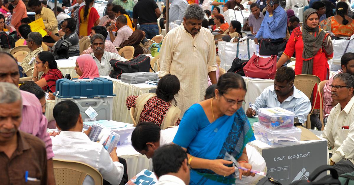 आंध्र प्रदेश में कई जगहों पर आधी रात तक मतदान चलता रहा : रिपोर्ट