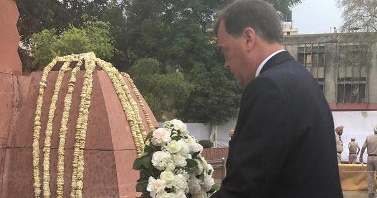 जलियांवाला बाग हत्याकांड के लिए ब्रिटिश उच्चायुक्त ने ख़ेद जताया