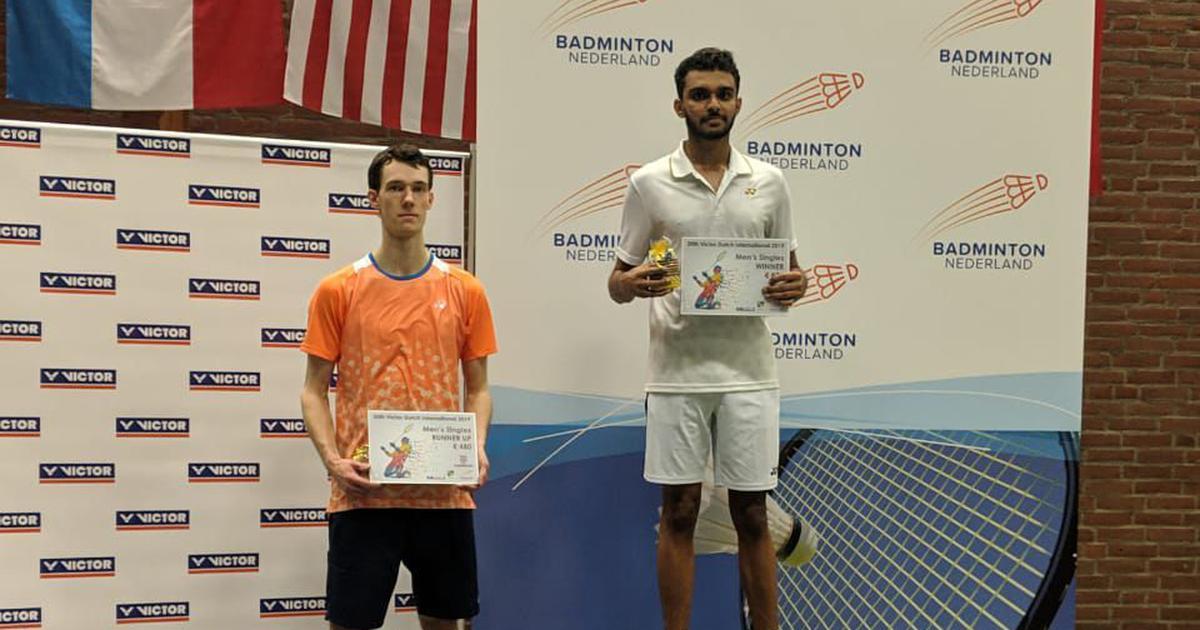 Badminton: Harsheel Dani clinches Dutch International title