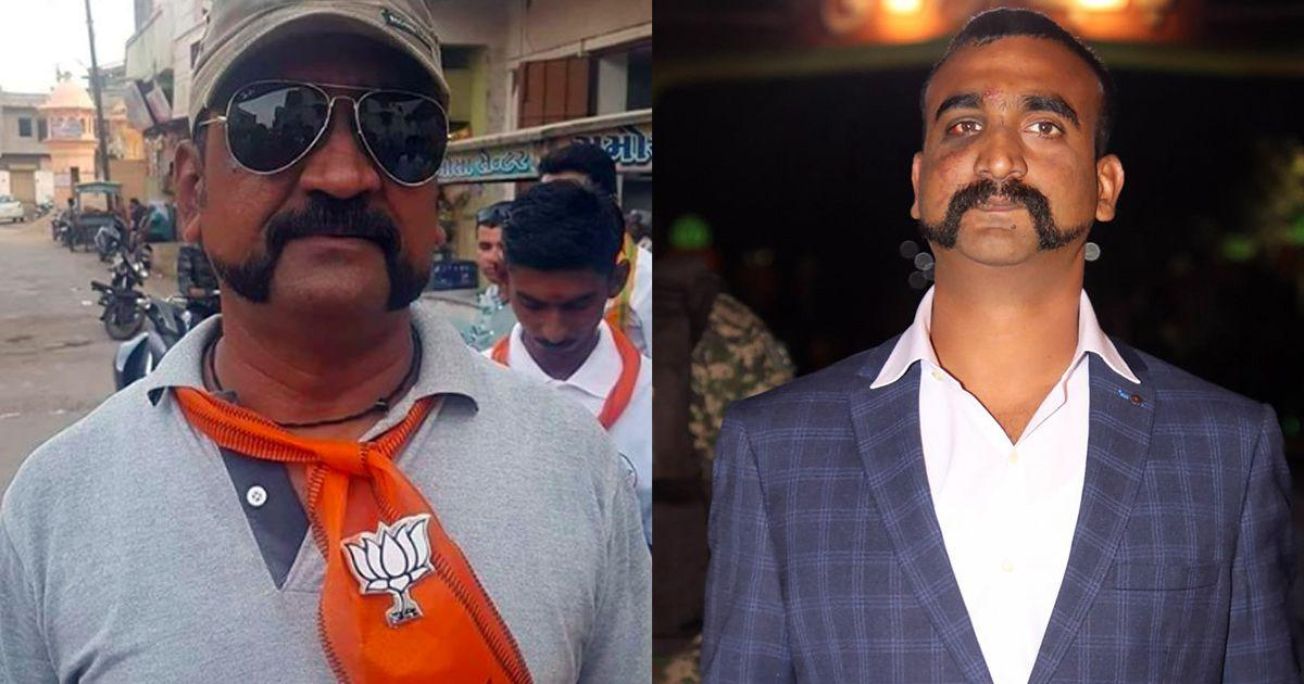 Fact check: Is that really a picture of Wing Commander Abhinandan Varthaman voting for the BJP?
