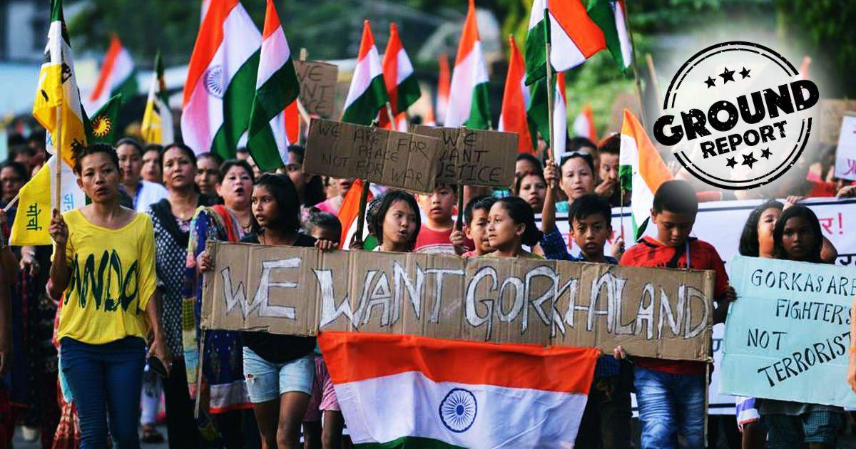 In Darjeeling, the BJP is silent on Gorkhaland demand – but most Gorkha parties are supporting it