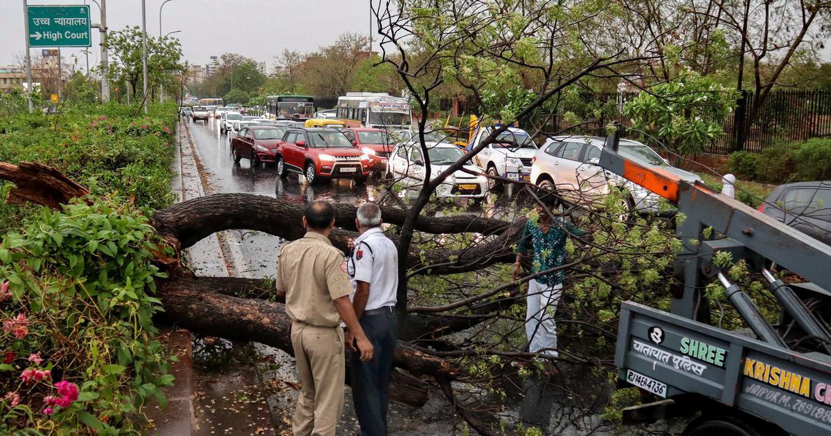Over 50 killed in rain, thunderstorm in Rajasthan, Gujarat, Madhya Pradesh and Maharashtra