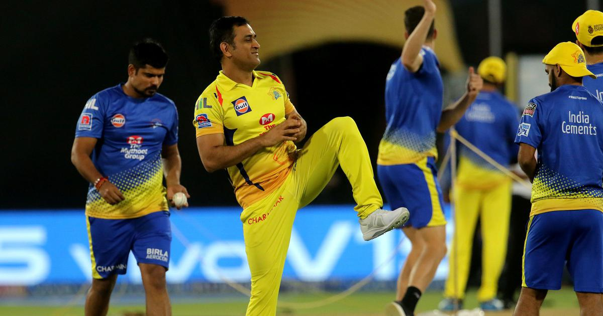 For the first time since 2010, Mahendra Singh Dhoni is missing a Chennai Super Kings game