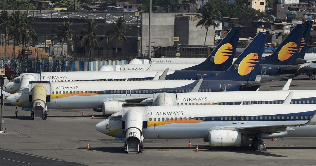 Resultado de imagen para jet airways grounded
