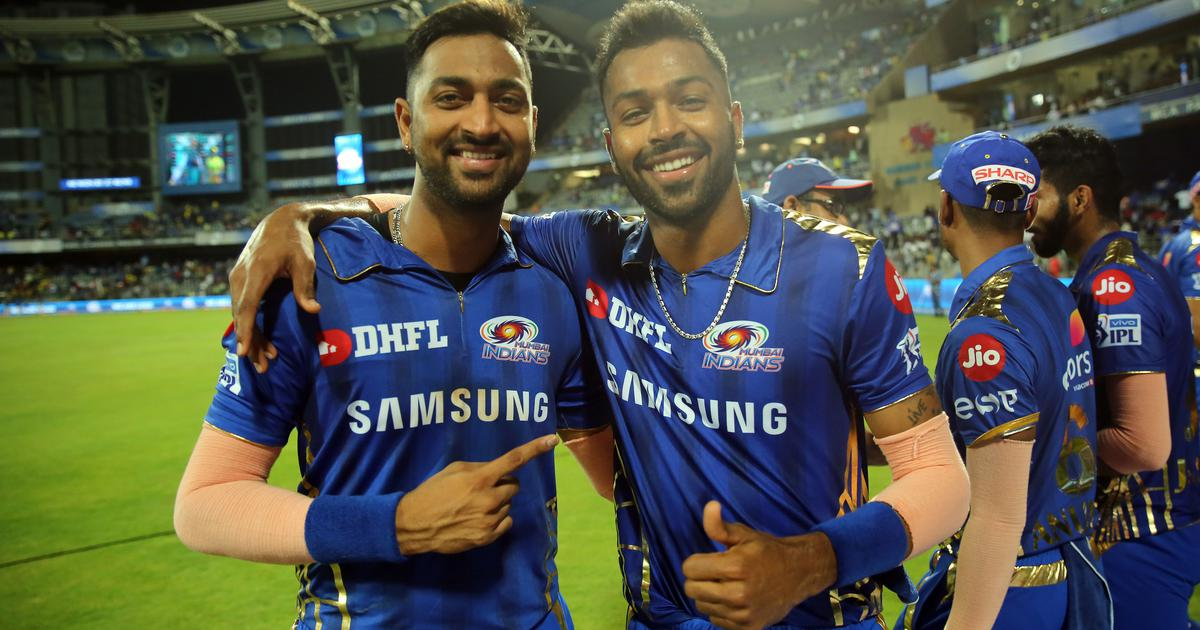 Forced break helped Hardik become a better cricketer, says Mumbai Indians' Krunal Pandya