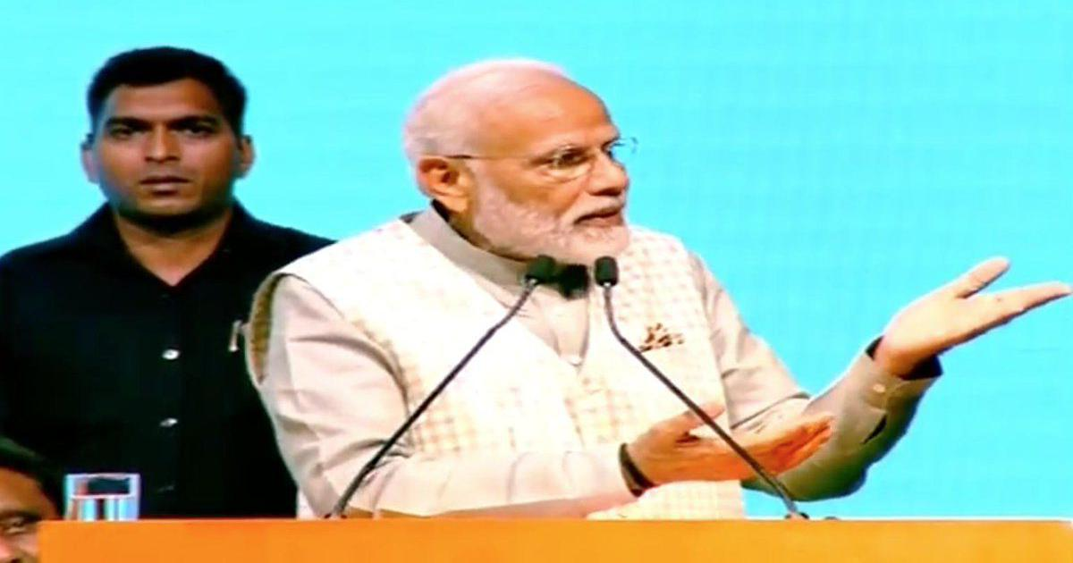 Modi says Centre will provide Rs 10 lakh accident insurance, Rs 50 lakh loan to GST-registered firms