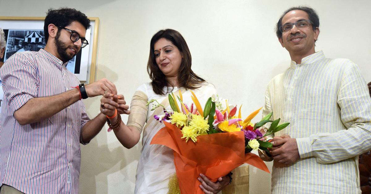 Has Priyanka Chaturvedi failed women by joining the Shiv Sena – or shown how to survive in politics?