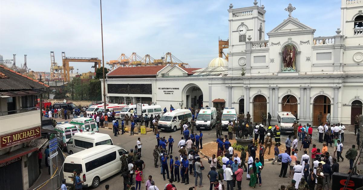 Multiple explosions rock Sri Lanka churches and hotels, scores injured