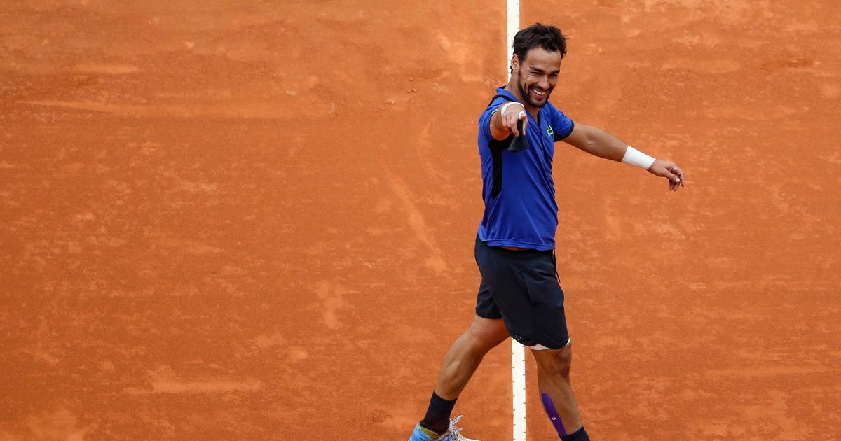 Tennis: Once regarded as bad boy and now a family man, Fognini has 'everything in his life'
