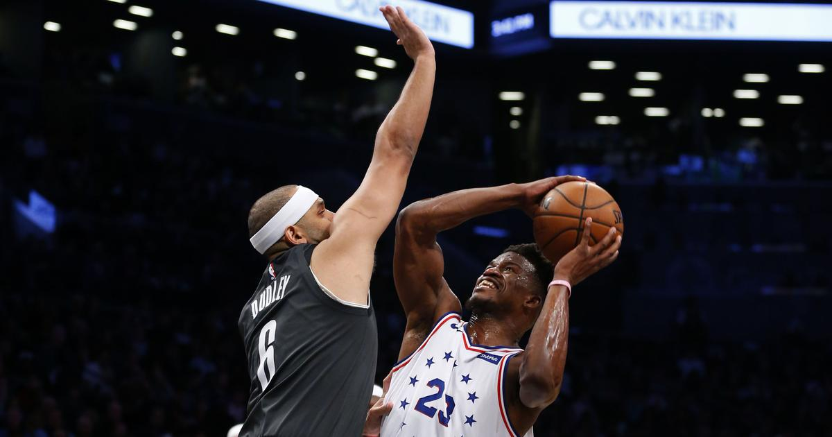 NBA: Philadelphia 76ers' Jimmy Butler and Brooklyn Nets' Jared Dudley fined for altercation