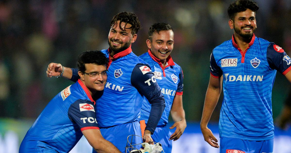 Watch: Sourav Ganguly lifting me felt special, says Rishabh Pant after match-winning knock