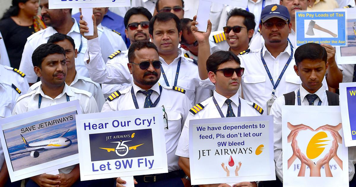 Jet Airways crisis: The embattled airline's employees are getting help from other quarters