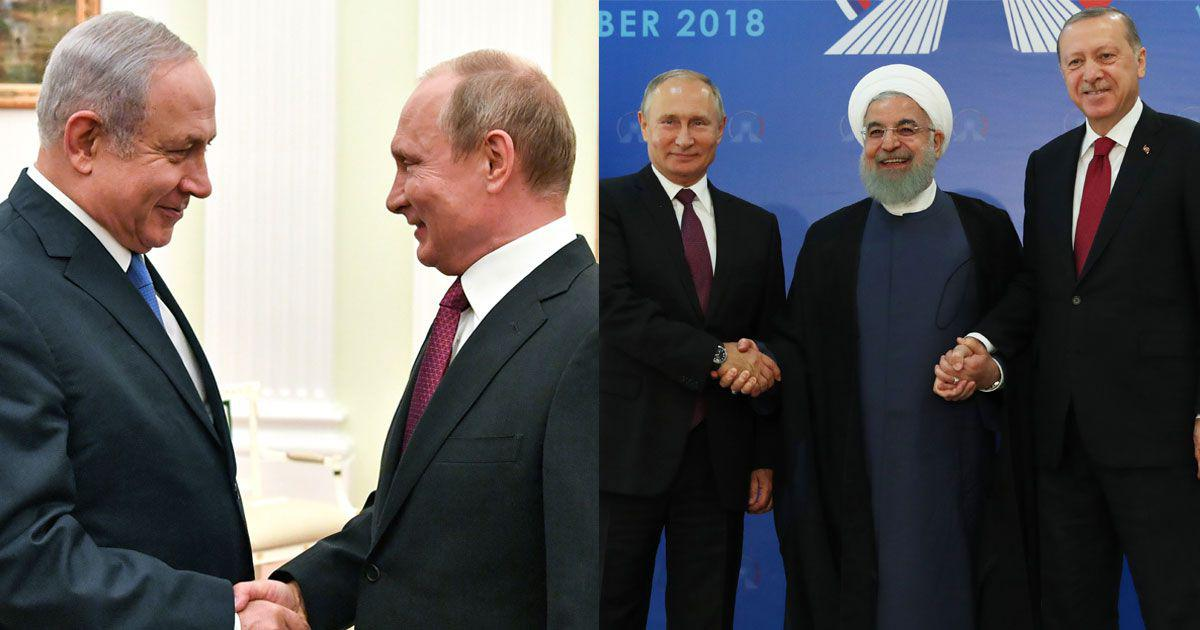 Putin's diplomatic jugglery: How Kremlin has maintained close ties with arch-enemies Iran and Israel
