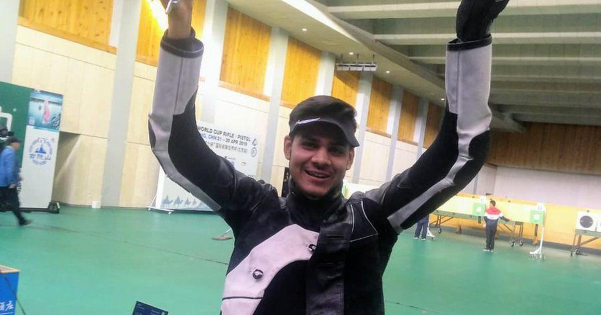 Shooting World Cup: Divyansh Singh Panwar wins silver and Olympic quota for India in 10m air rifle