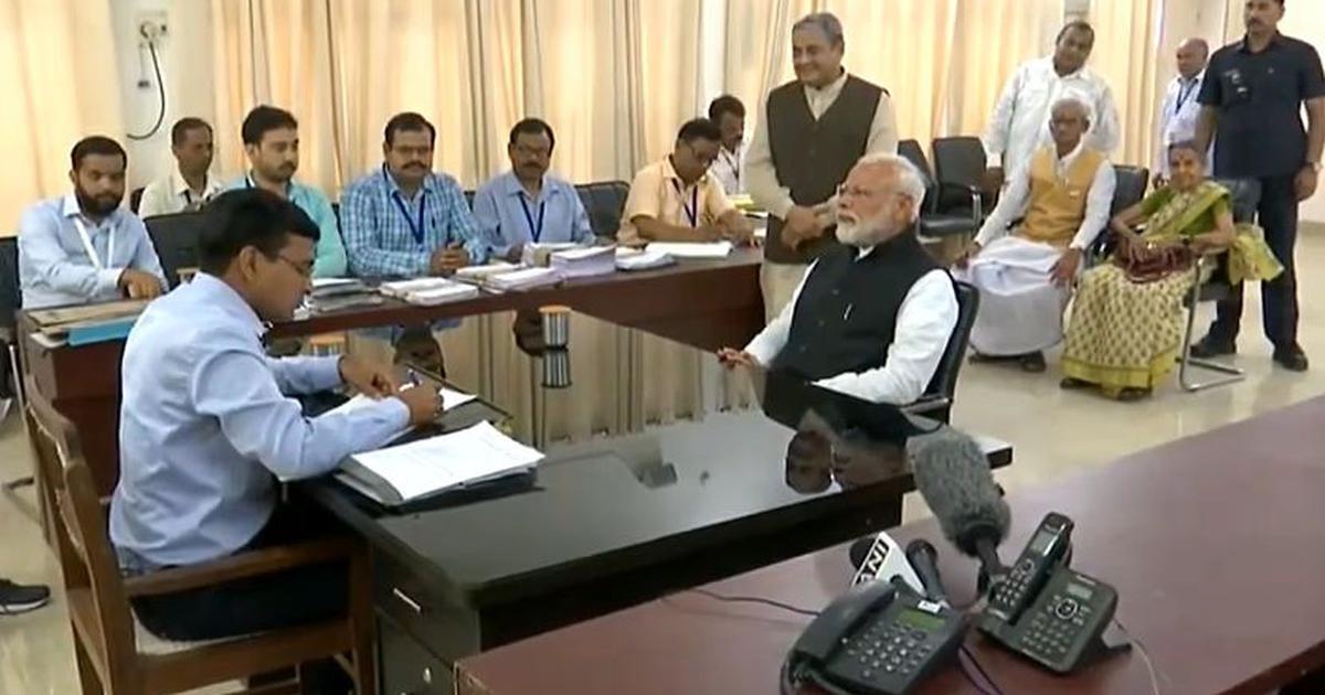 Lok Sabha polls: PM Narendra Modi files nomination papers for re-election to Varanasi seat