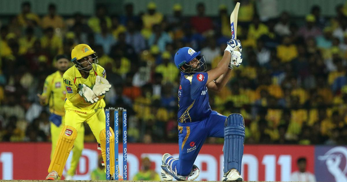 IPL 2019: Rohit Sharma hits first fifty of the season, Dhoni-less ...