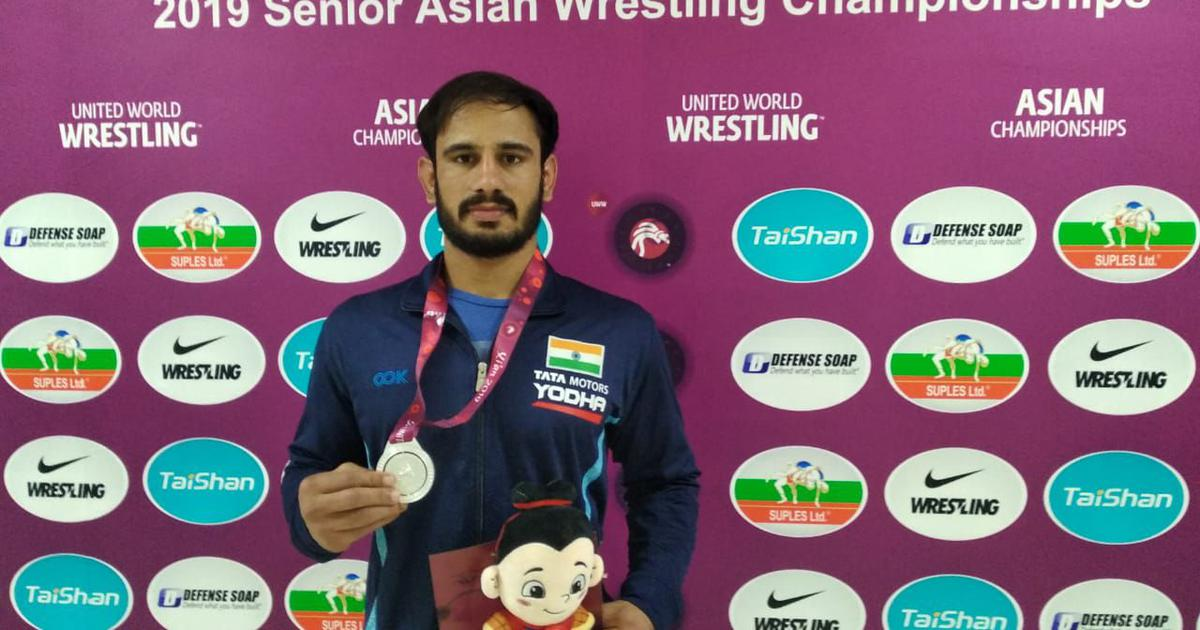 Asian Wrestling C'ships: Harpreet clinches Greco-Roman silver as India finish event with 16 medals