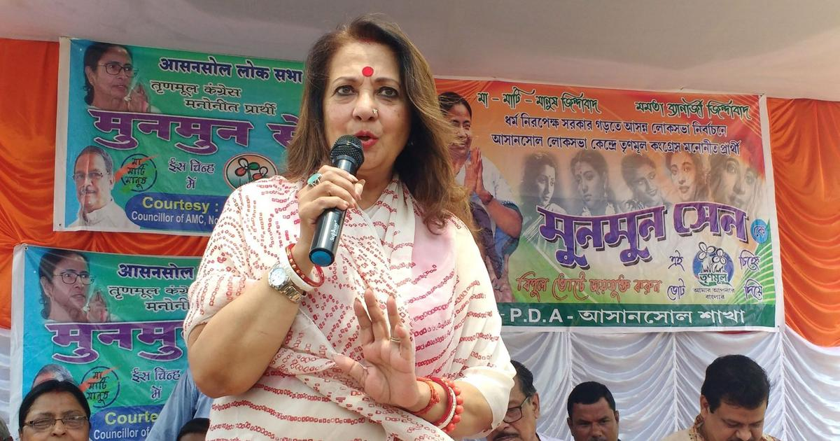 'Given bed tea late, woke up late': Why TMC's Moon Moon Sen claims she's unaware of Asansol clashes
