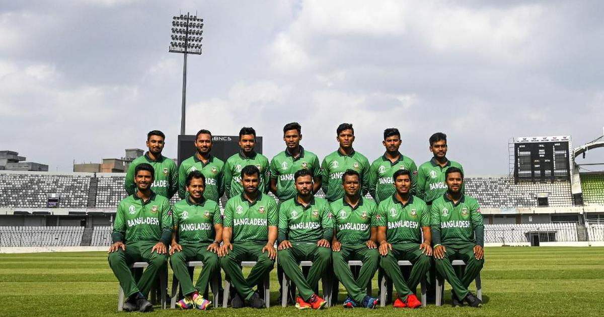 bb21969ba World Cup 2019: Bangladesh change jersey strip after complaints of  similarity with Pakistan's kit