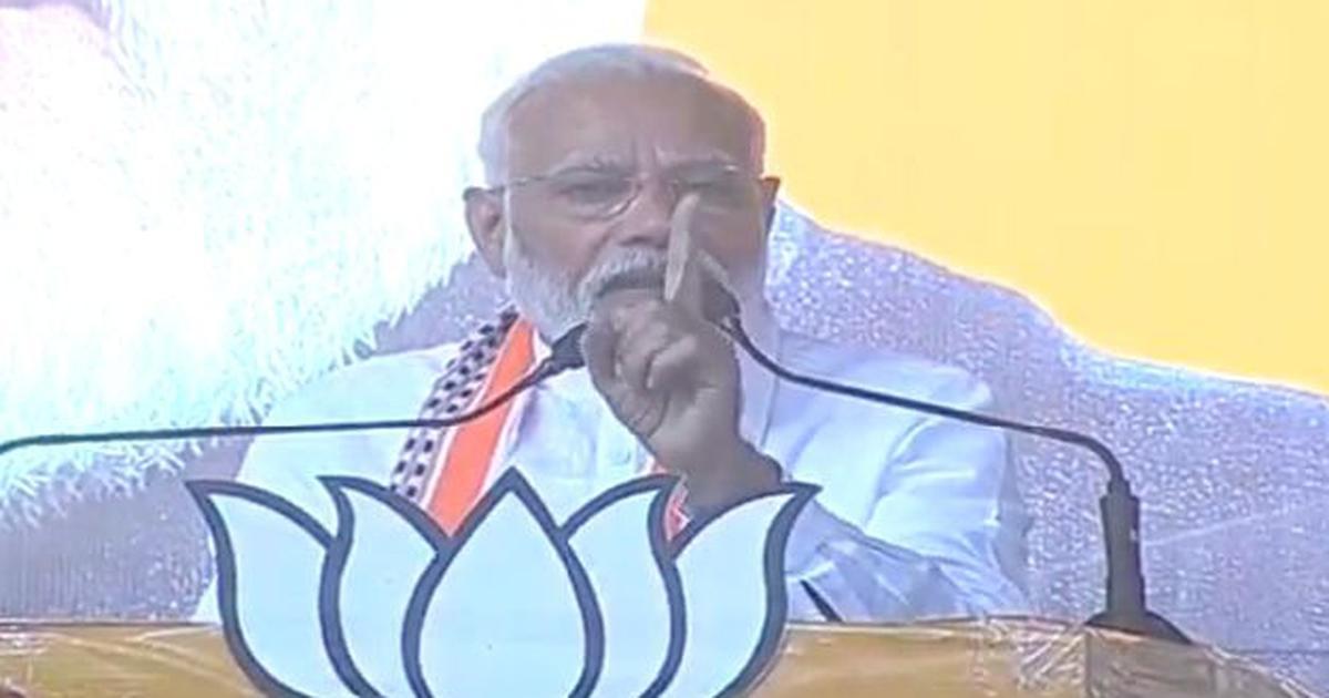 Congress hates me, they dream of killing me, claims Narendra Modi in Madhya Pradesh