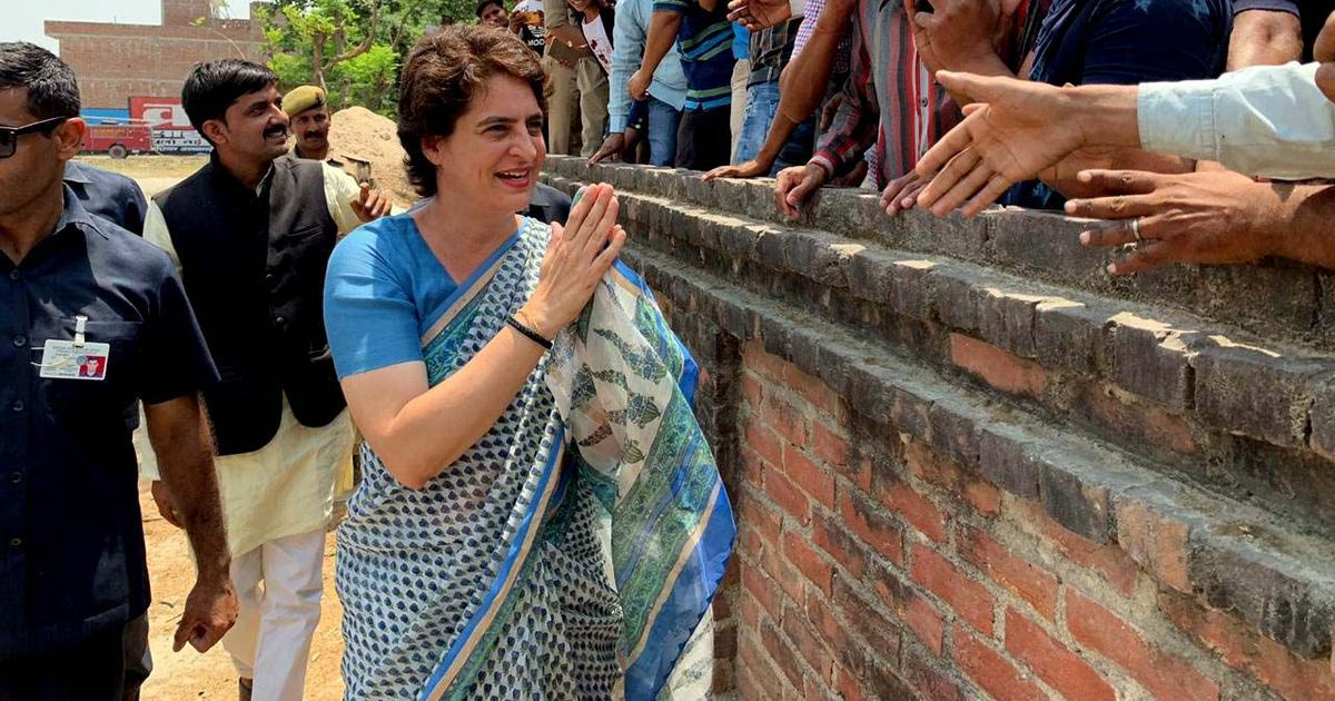 'Part of politics', says Priyanka Gandhi on Centre removing SPG cover