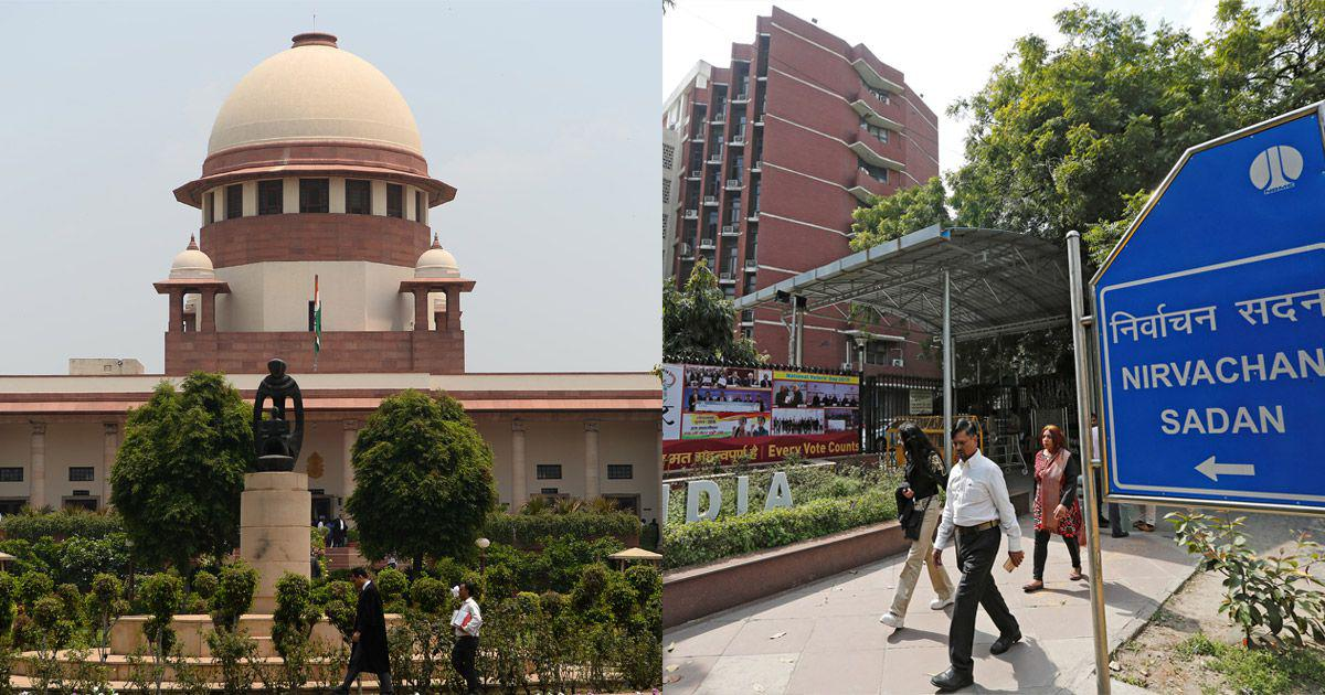 'Political parties should be asked not to field candidates with criminal backgrounds,' EC tells SC