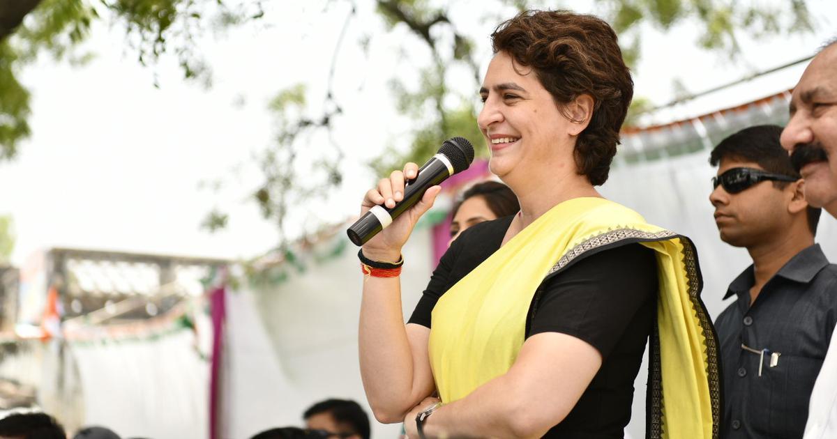 इससे अच्छा तो आप अमिताभ बच्चन को ही प्रधानमंत्री बना देते : प्रियंका गांधी वाड्रा