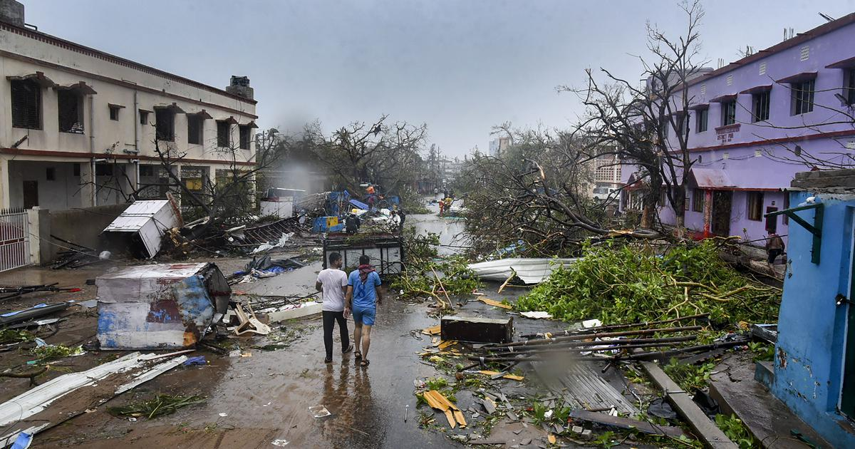 Cyclone Fani weakens into deep depression, toll in Odisha rises to 12