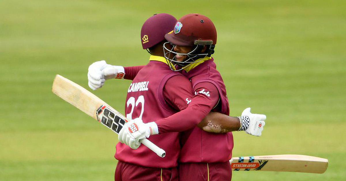 Ireland vs West Indies: John Campbell, Shai Hope record highest opening stand in ODIs