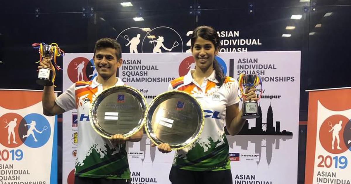 Squash: Double success for India as Saurav Ghosal, Joshna Chinappa win Asian championship titles