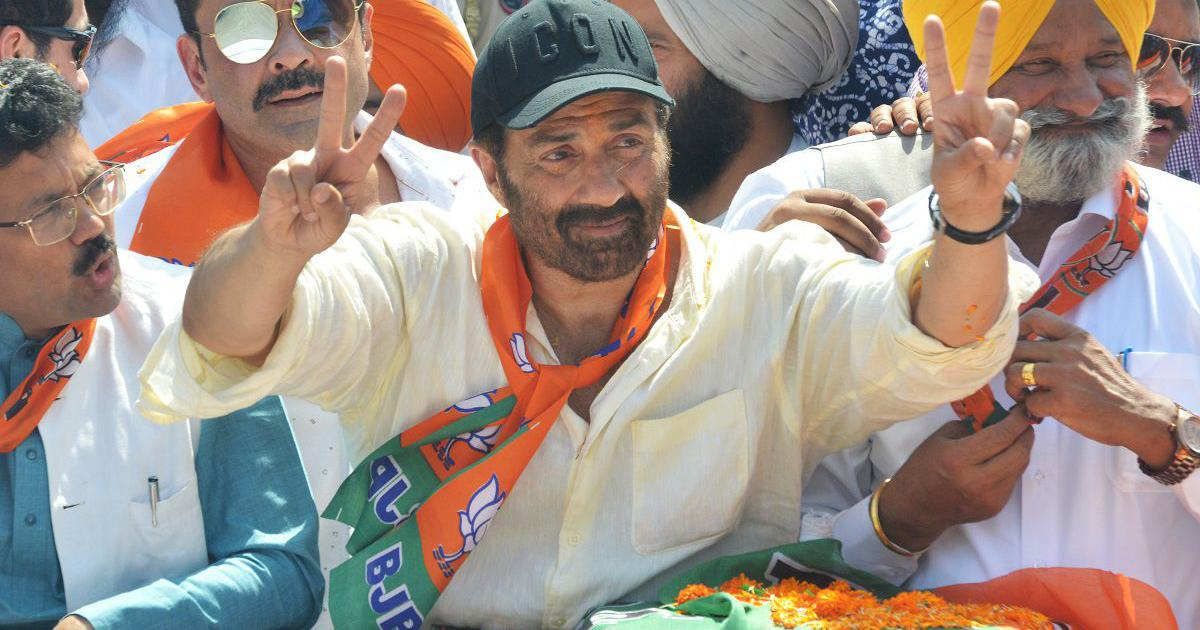 BJP MP Sunny Deol appoints 'representative' to Gurdaspur constituency, Congress calls it betrayal