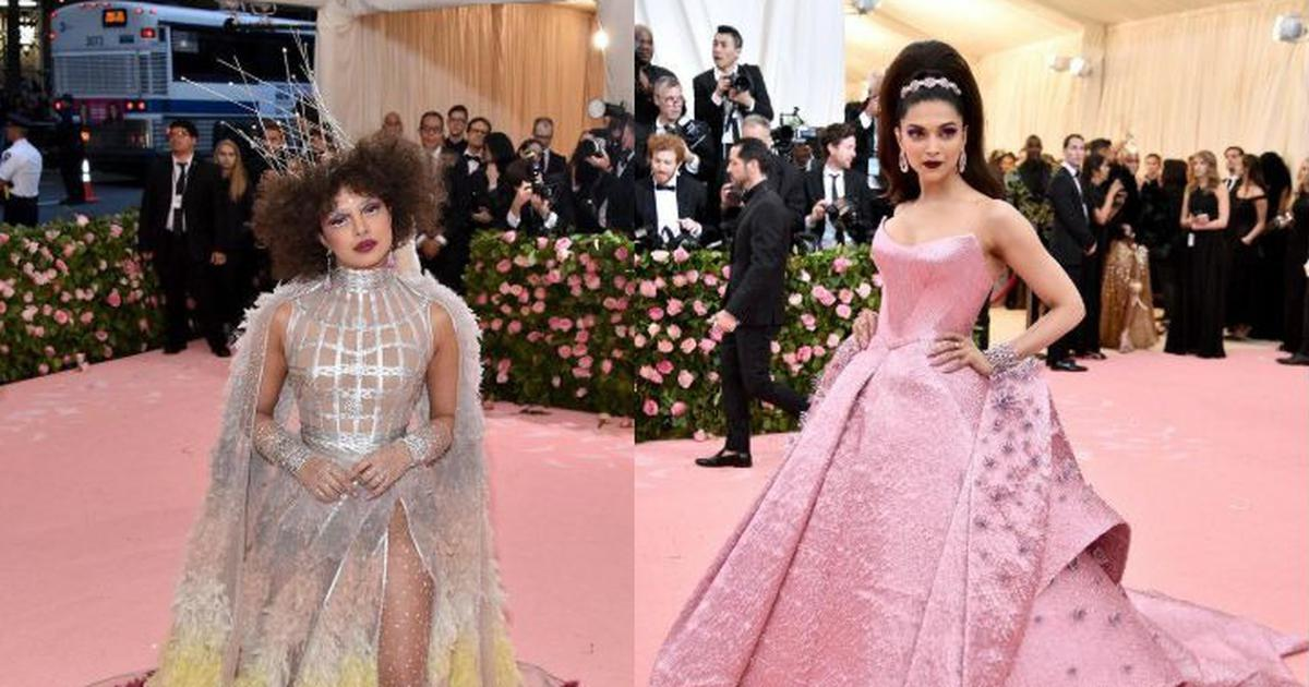 'Priyanka Chopra endorsing Centre Shock': Celebs bring A-game to Met Gala 2019, Twitter laughs along