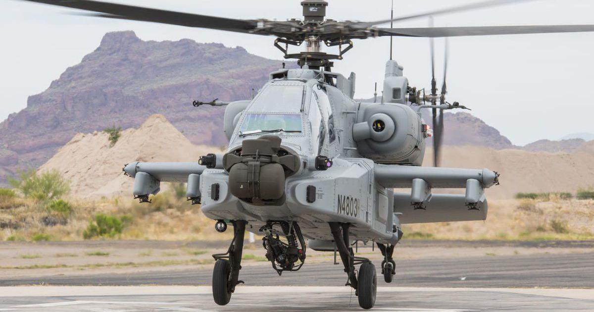 Indian Air Force gets its first Apache Guardian attack helicopter