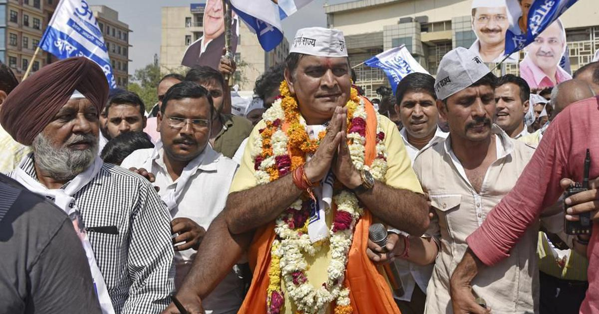Delhi: AAP candidate refutes son's allegations of paying Rs 6 crore to party leaders for ticket