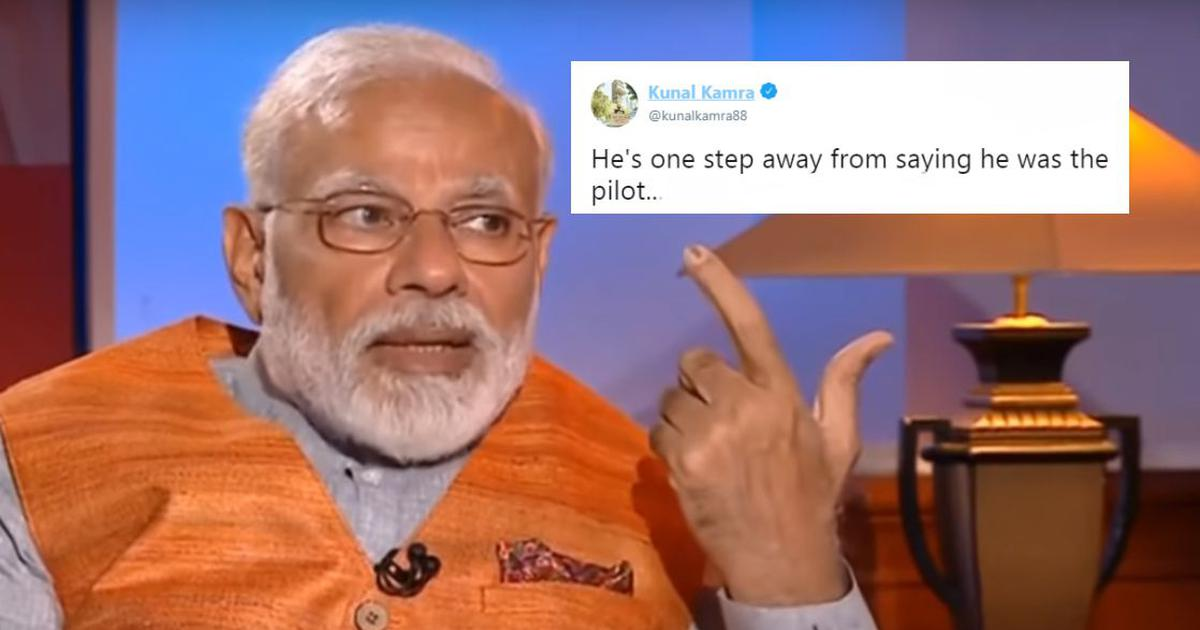 'How's the PM? High sir': Modi's cloud theory about Balakot airstrikes tickles Twitter's funny bone