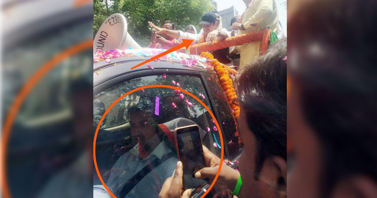 Fact check: Did BJP candidate Gautam Gambhir use a body double during his election campaign?