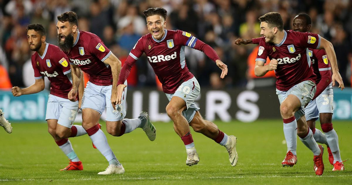 Aston Villa pip West Brom on penalties to reach final of Championship playoffs