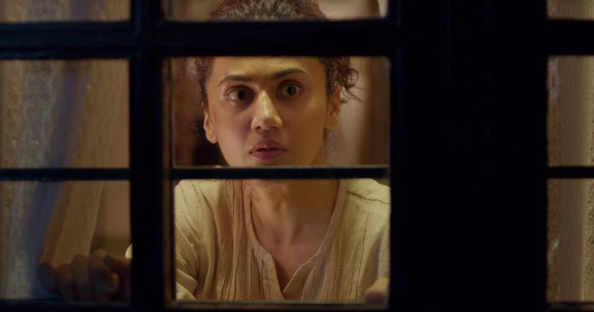 'Game Over' teaser: A wheelchair-bound Taapsee Pannu is alone at home and there's an uninvited guest
