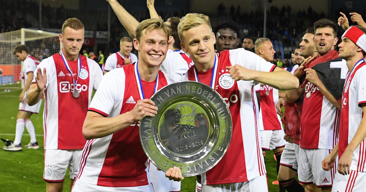 Football: Ajax complete domestic double after winning Dutch league for the 34th time