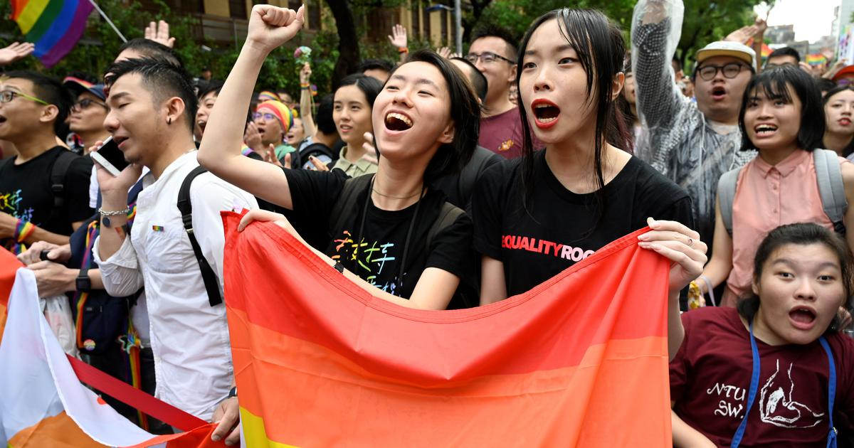Taiwan legalises same-sex marriage in a historic first for Asia