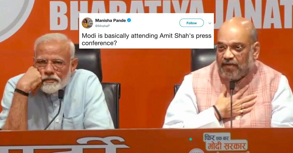 'Narendra Modi took a bath without getting wet': Twitter on the presser that wasn't