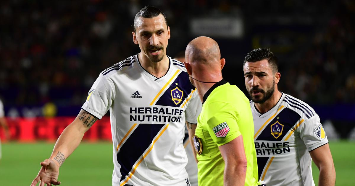 Football: Zlatan Ibrahimovic suspended for two games after grabbing goalkeeper by the neck in MLS