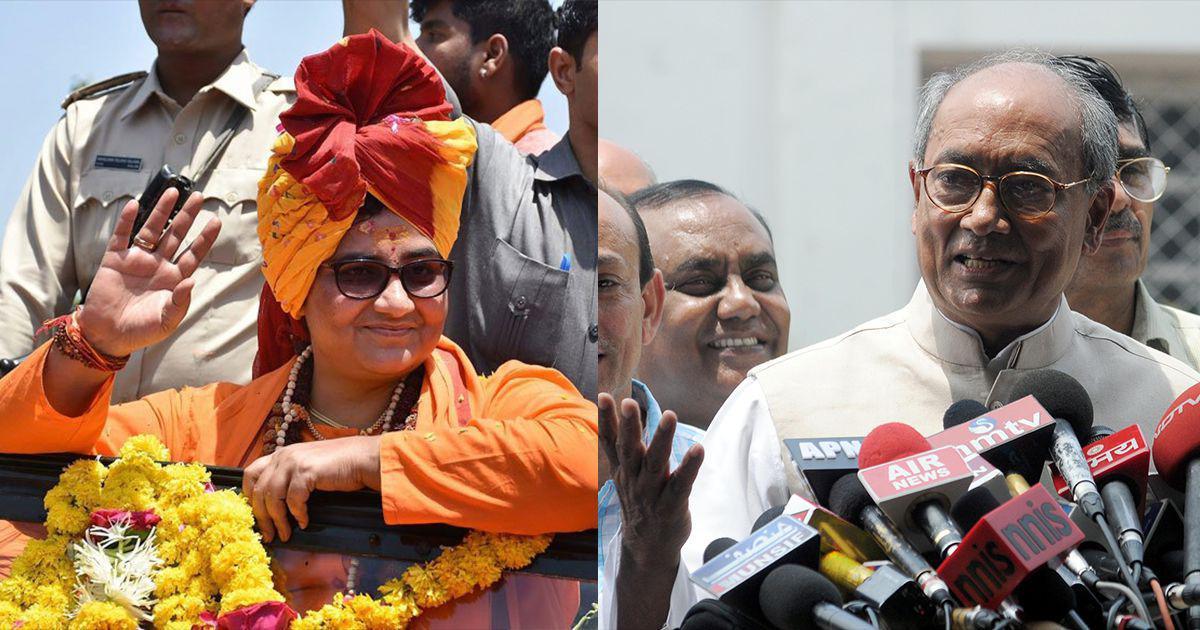 Election 2019 results: It is BJP's Sadhvi Pragya against Congress' Digvijaya Singh in Bhopal today
