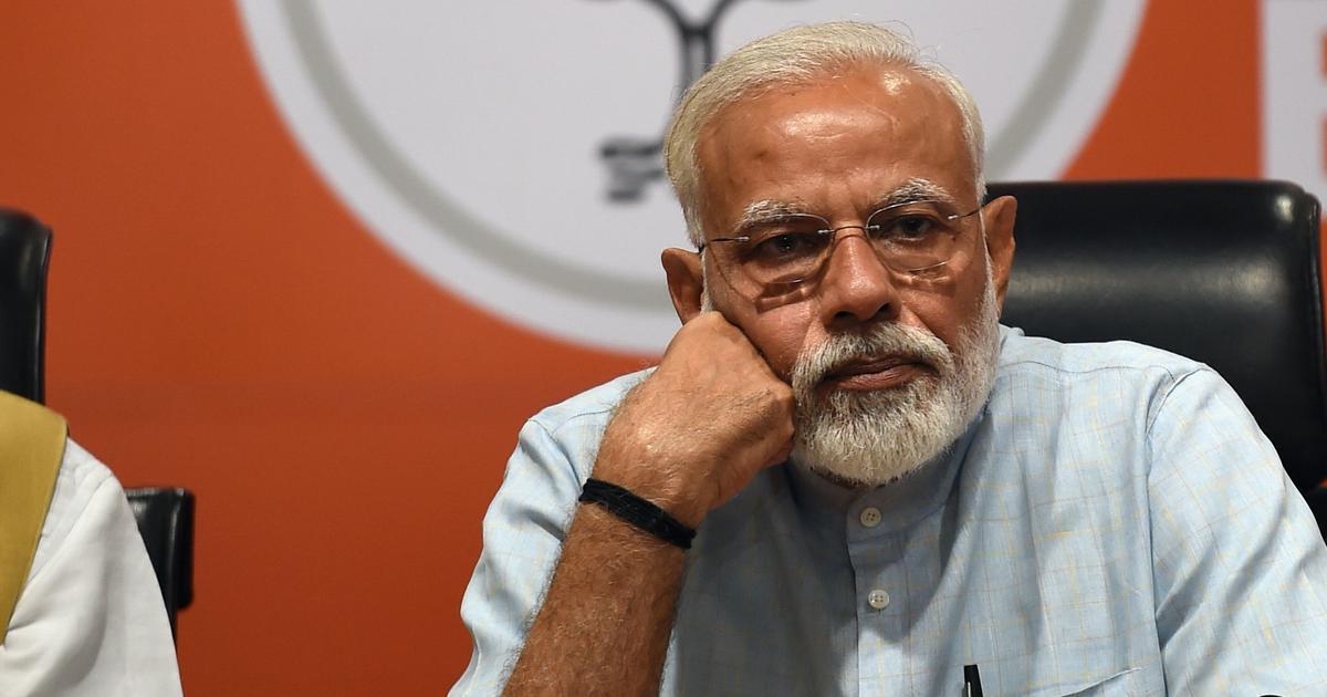 Modi condemns BJP MLA Akash Vijayvargiya's assault on civic official, says 'it is unacceptable'