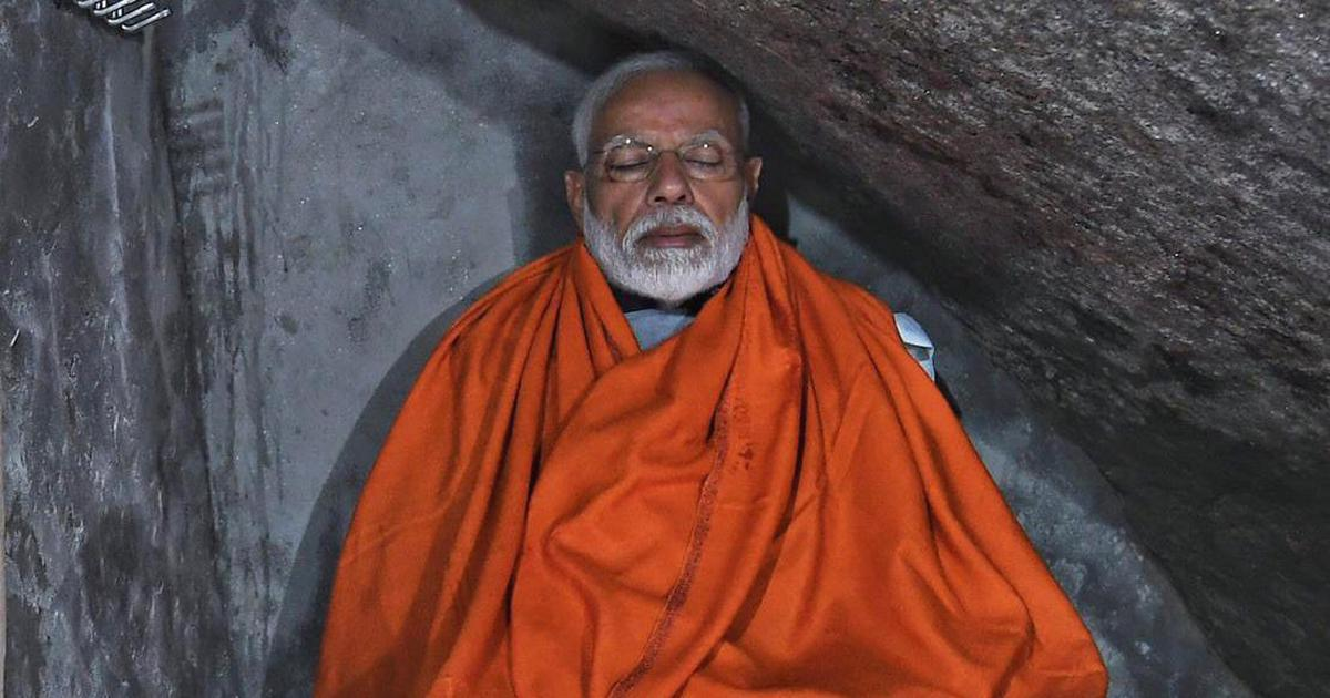 Modi as the karmayogi: How the prime minister has modelled himself as a new-age Hindu ascetic