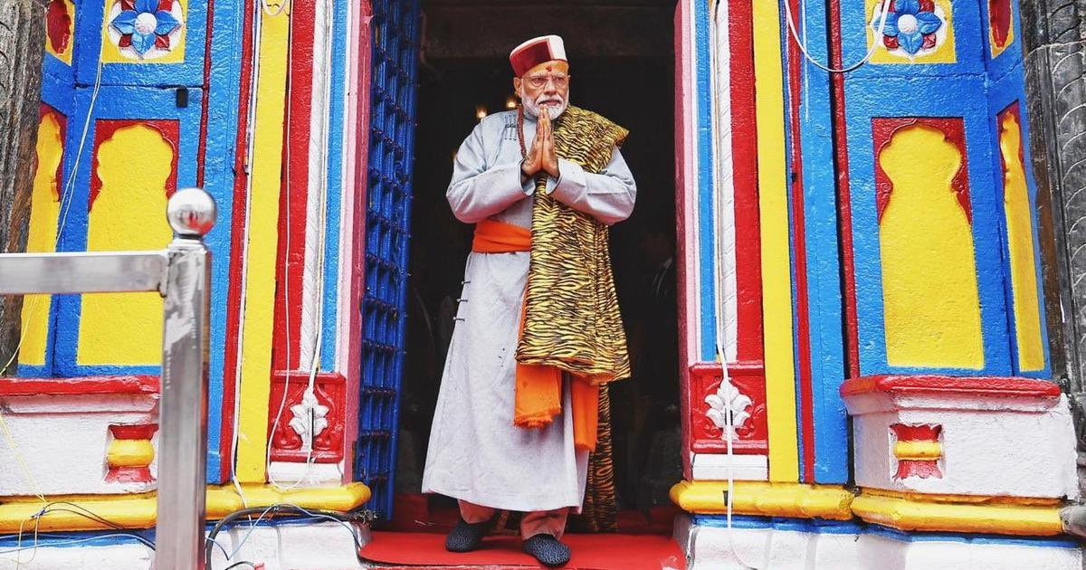 Congress, TMC complain to poll panel against media coverage of Narendra Modi's Kedarnath visit